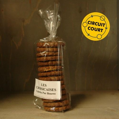 La Route du Cacao - galettes pur beurre les croisicaises chocolat 150g
