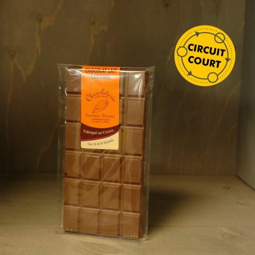 La Route du Cacao - tablette de chocolat lait caramel 90g