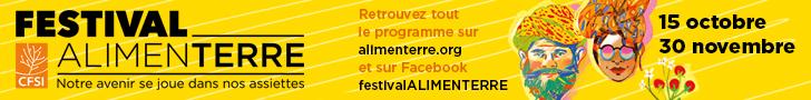 Bandeau - festival Alimenterre 2018