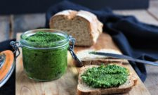 Pesto de chou kale (vegan)
