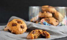 Cookies vegan et sans gluten à la citrouille et aux pépites de chocolat