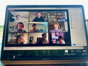 Photo of online meeting