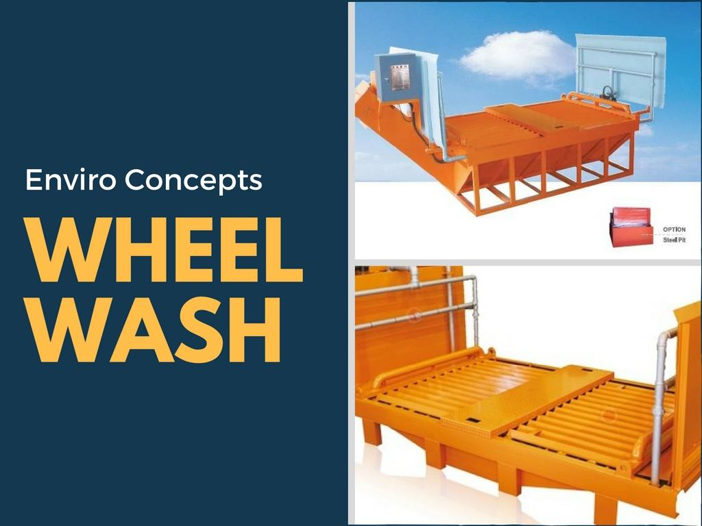 Wheel Wash Enviro Concepts Waste Water Treatment And