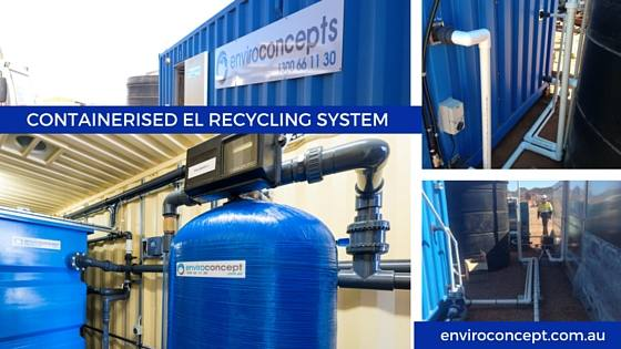 Enviro Concepts, Water Treatment Recycling