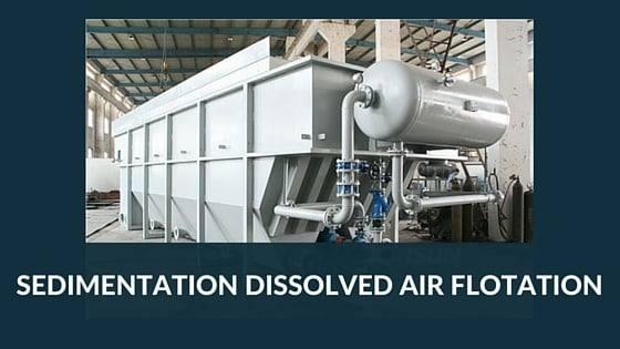 Sedimentation, Dissolved Air Flotation, Enviroconcepts