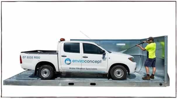 Enviro Concepts, Car Wash Bay