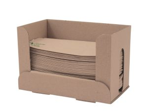 32 x 30cm 1-ply unbleached dispenser napkin (2 free dispensers)