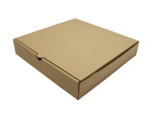 9in brown kraft pizza box