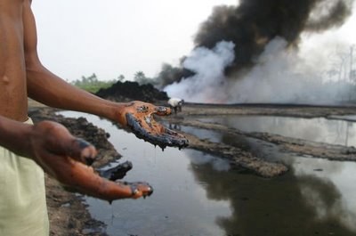 The Niger Delta region in Nigeria is believed to be one of the most polluted spots in the entire universe