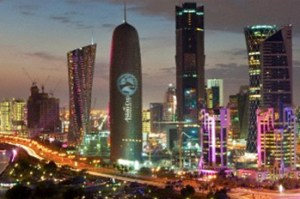 COP 18: Activists demand 'Climate Justice' Doha 300x199