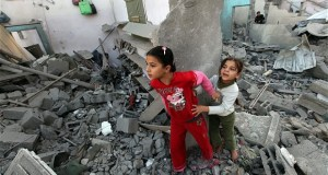 Laureates on Gaza: They're also our children Gaza