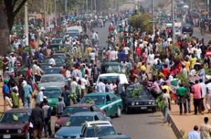 Abuja is fast becoming chaotic. Photo courtesy: gbemigaolamikan.blogspot.com