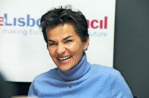 Christiana Figueres, UNFCCC Executive Secretary  The march towards a new climate deal Figueres 300x199