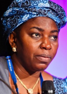 Minister of Water Resources Mrs. Sarah Reng Ochekpe  FAO seeks improved policy implementation to promote agriculture Minister of Water Resources Mrs Sarah Reng Ochekpe 216x300