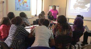 Women activists enlightened on girl child's right to education Women Leadership Training on Girls Education