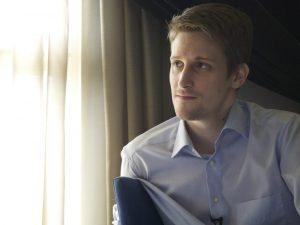 Edward Snowden. Photo: The Guardian  Bill McKibben, Edward Snowden, others win 'Alternative Nobel Prize' award 1 Edward Snowden credit The Guardian HR 300x225