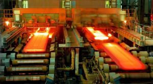 A steel making plant line  European steel makers seek to stay afloat amid climate, energy agenda Steel making plant 300x166