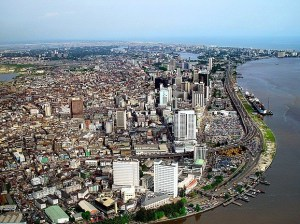 City centre and skyline of Lagos Island. Photo credit: Wikipedia