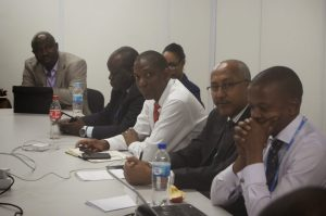Delegates at the meeting  Civil Society's visit to African Group at COP 20 in photos AG5 300x199