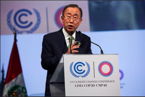 UN Secretary-General, Ban Ki-moon