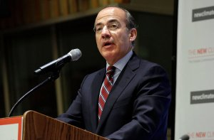 Felipe Calderón, former President of México and Chair of the Global Commission on the Economy and Climate. Photo credit: nytimes.com