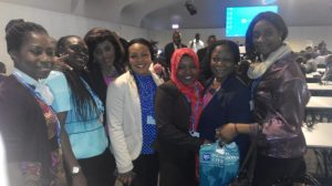 A group of female delegates at the COP  Nigerian delegation to Lima COP 20 in photos IMG 20141208 090911 300x168