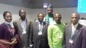 Left to right: Dr Erimma Gloria Orie, Kayode Fagbemi, Prof Adeniyi Osuntogun, Dr Nasiru Idris, Prof Ayuba Kuje (Nasarawa State University, Keffi) and Prof Mohammed Balarabe (Ahmadu Bello University, Zaria)