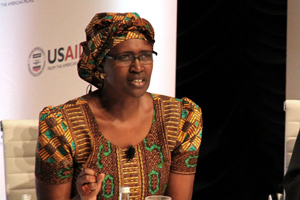 Winnie Byanyima, Executive Director of Oxfam International. Photo credit: usaid.gov  Knocks, applause trail COP 20 Lima climate talks' outcome Winnie Byanyima Executive Director of Oxfam International
