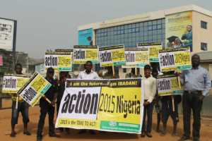 Launch of the campaign in Ibadan, Oyo State. Photo credit: Climate and Sustainable Development Network (CSDevNet)