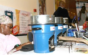 Sample clean cookstoves