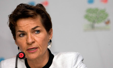 Christiana Figueres, Executive Secretary of the UNFCCC