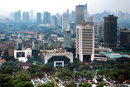 Jakarta, Indonesia. One of the over 500 cities featured in the portal. Photo credit: tripsgate.com