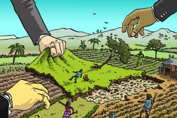Land grab. Photo credit: actionaidusa.org