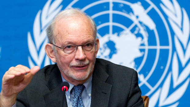 Anthony Lake, Executive Director, UNICEF. Photo credit: ctvnews.ca