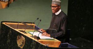 Muhammadu Buhari  Buhari, at planners' forum, commits to sustaining key lands, housing policies Buhari1