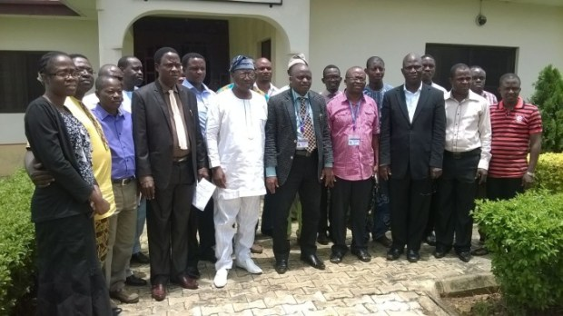 A group photo of participants  Photos: Opening of FUTA climate change workshop IMG 20150915 WA004 e1442335125190