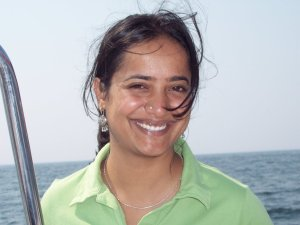 Vinuta Gopal, the interim co-executive director of Greenpeace India. Photo credit: twitter.com  India crackdown: Defiant Greenpeace will continue campaign Vinuta Gopal 300x225