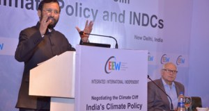 Prakash Javadekar, India's Minister for Environment