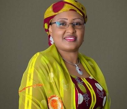 Wife of the president, Mrs. Aisha Buhari. Photo credit: newngrguardiannewscom.c.presscdn.com