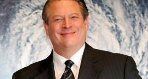 Former US Vice President Al Gore at the premiere of 'An Inconvenient Truth' in Tokyo