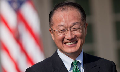 World Bank Group President, Jim Yong Kim. Photo credit: static.guim.co.uk