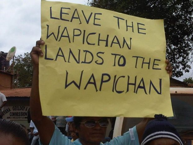 The Wapichan people in Guyana, South America. Photo credit: laurencjohnson.files.wordpress.com