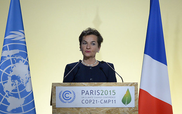 UNFCCC, Executive Secretary, Christiana Figueres  State of Palestine joins UNFCCC Christiana F