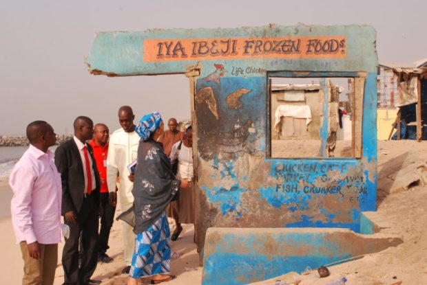 DSC_7989  Erosion ravages Lagos shoreline, NCF seeks government intervention DSC 7989 e1531532373285