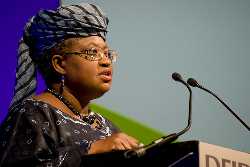 Mrs Ngozi Okonjo-Iweala, Chair, Board of Africa Risk Capacity (ARC). Photo credit: flickr.com