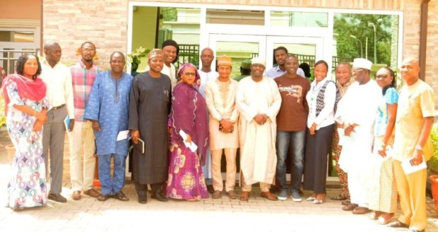 Officials of CODE, Follow The Money, as well as the DG and senior staff members of the NAGGW after the advocacy visit/meeting