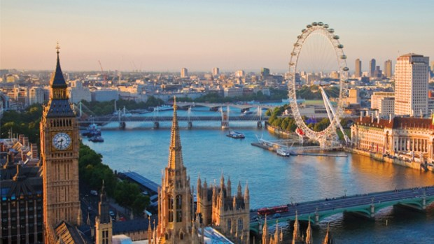 London, the capital of England, is said to be living unsustainably on water. Photo credit: visitlondon.com