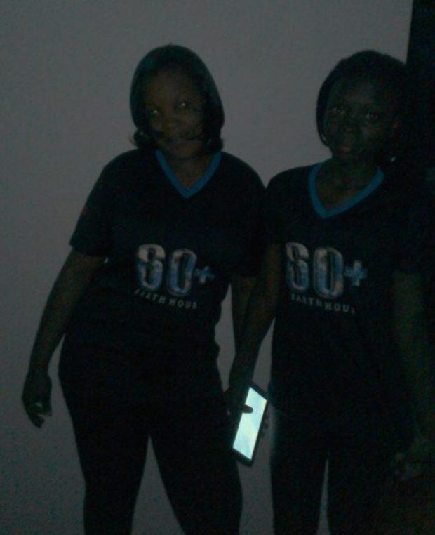 Earth Hour celebration in Abidjan, Ivory Coast