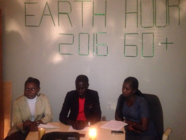 Earth Hour celebration in Banjul, The Gambia
