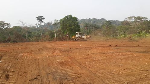 Bulldozers at work clearing the Super Highway's route passing through parts of Boki  Photos: Cross River, community in face-off over Super Highway Ekuri2 Superhighway route passing through parts of Boki